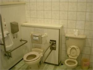 北竿遊客中心無障礙廁所
