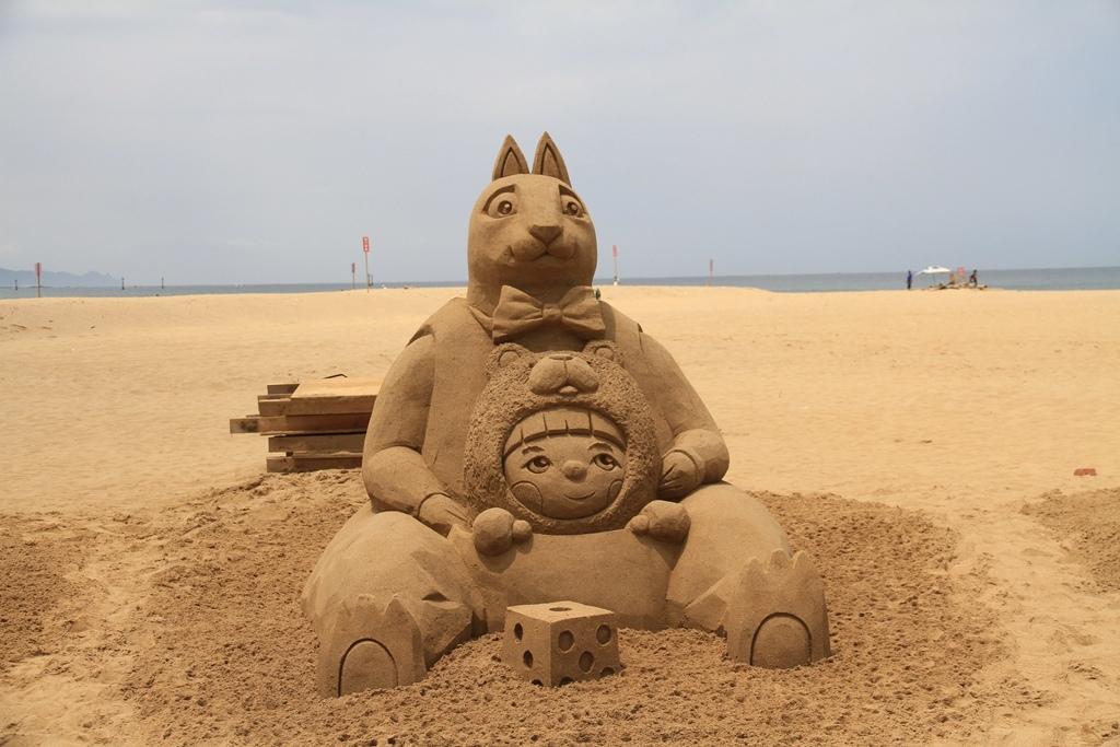 2017福隆國際沙雕藝術季 (4)
