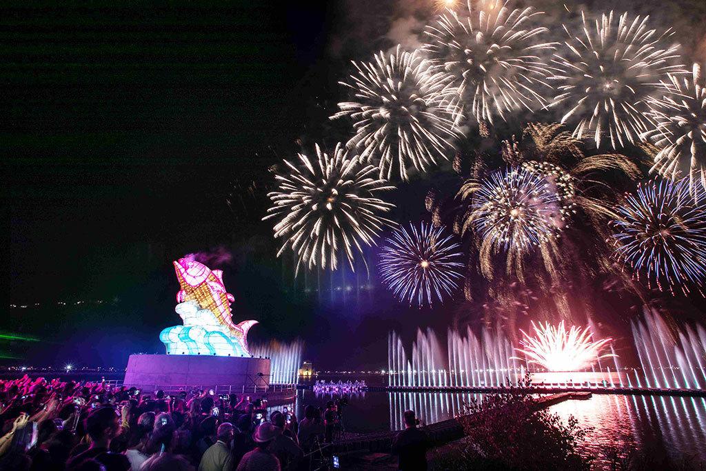 2019台湾ランタンフェスティバル