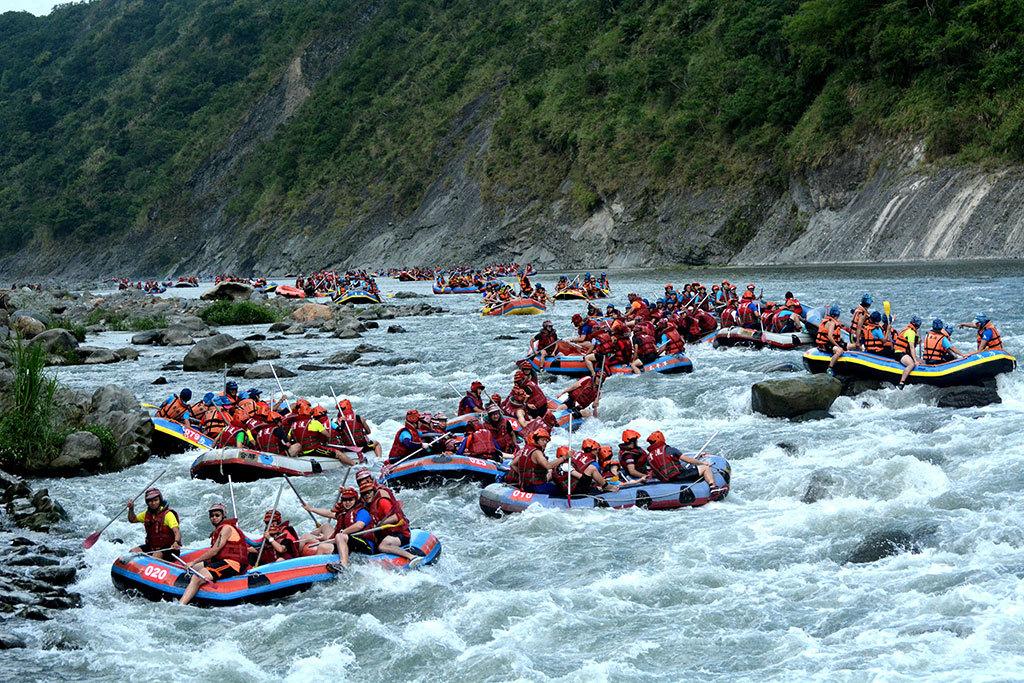 2019 Xiuguluan River Rafting Triathlon