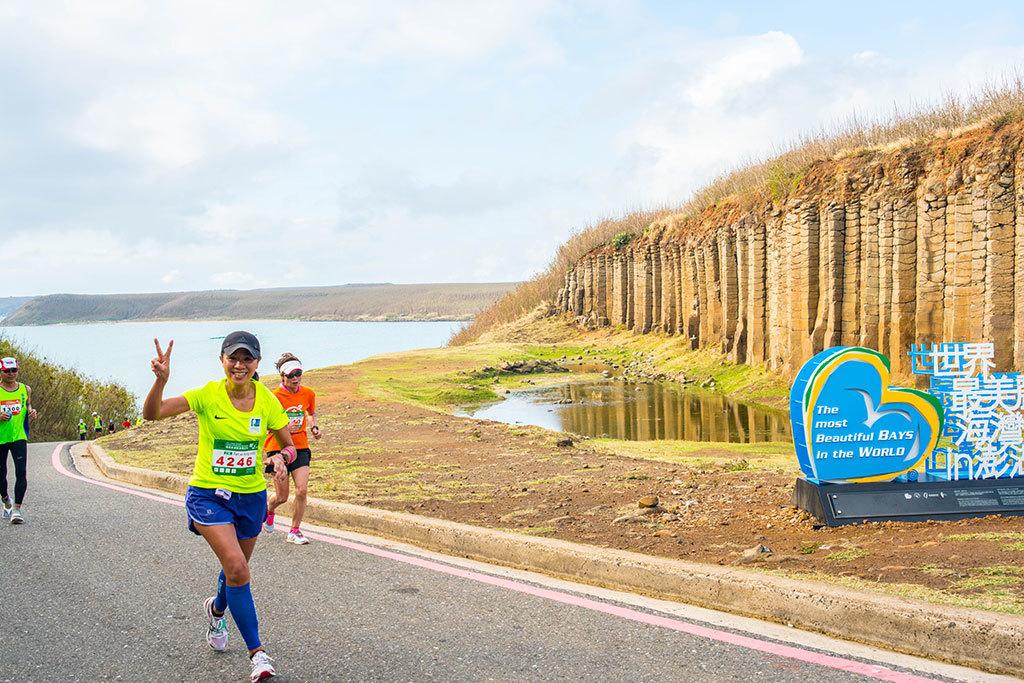 Maratón por la isla Kikushima de Penghu