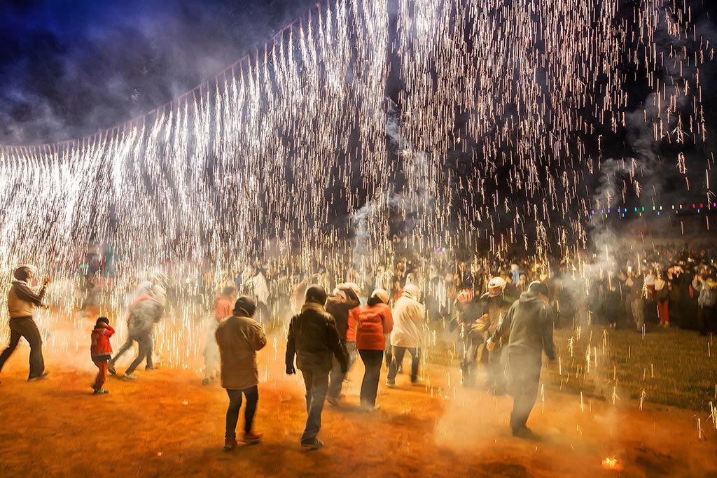 2019 Taiwan Lantern Festival─ Yanshuei (Yanshui) Beehive Fireworks Festival