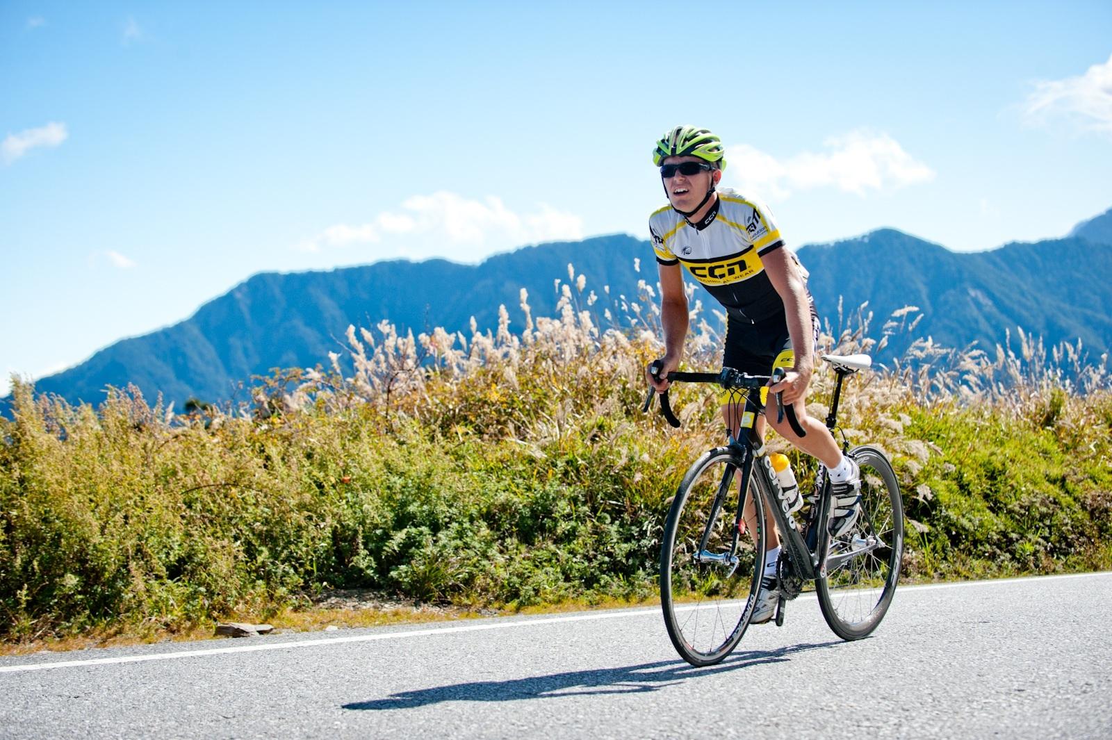 Taiwan KOM Challenge冠軍選手艾伯森對台灣公路經典路線留下深刻無比的印象