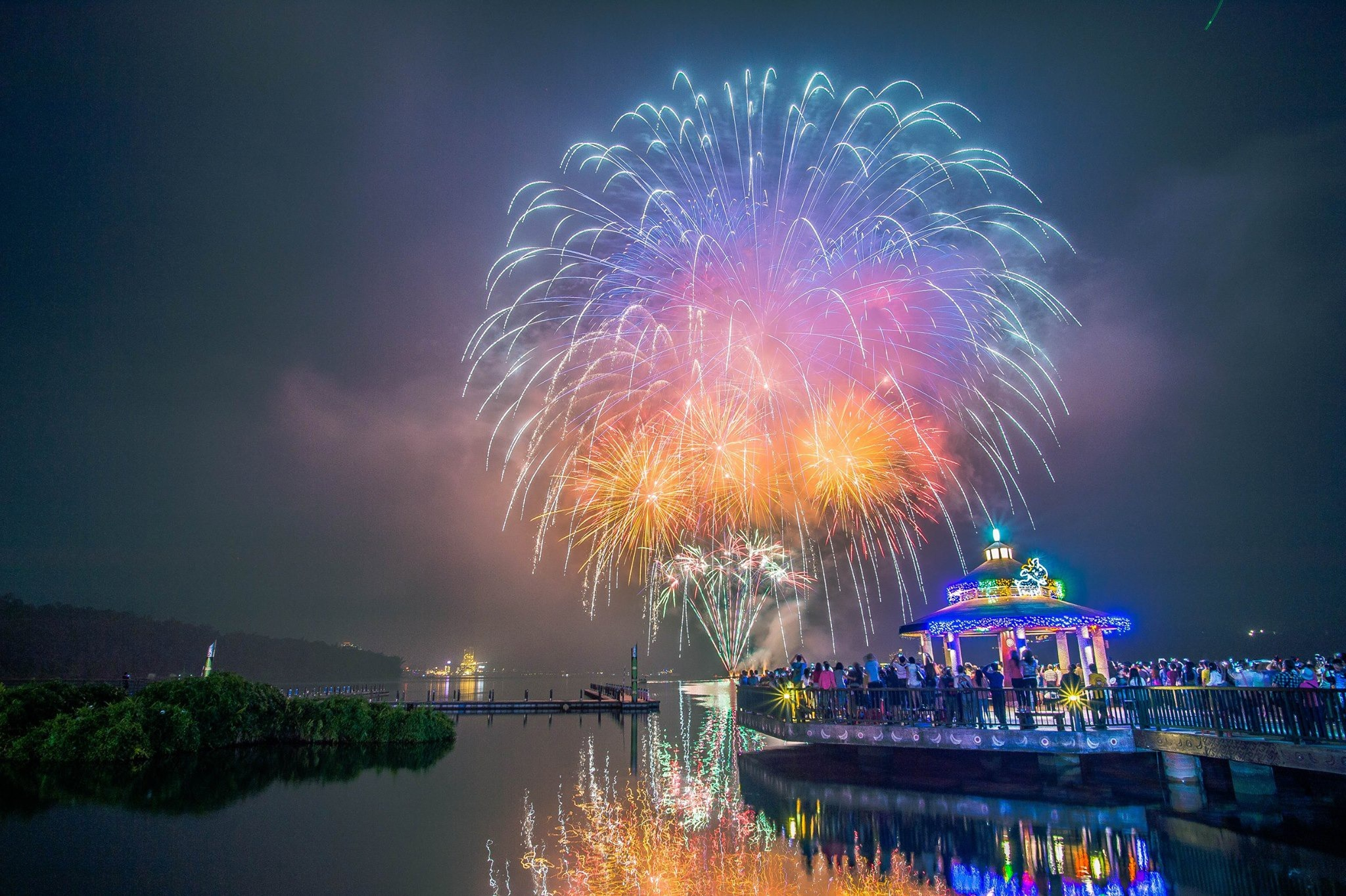 2019 Sun Moon Lake Cycling, Music & Fireworks Festival