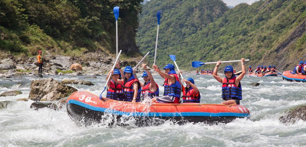 秀姑巒溪國際泛舟鐵人三項競賽