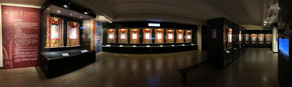 2018西藏文化藝術節_西藏醫學唐卡藝術特展現場展覽