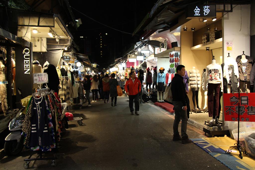 臺北-五分埔(成衣街)