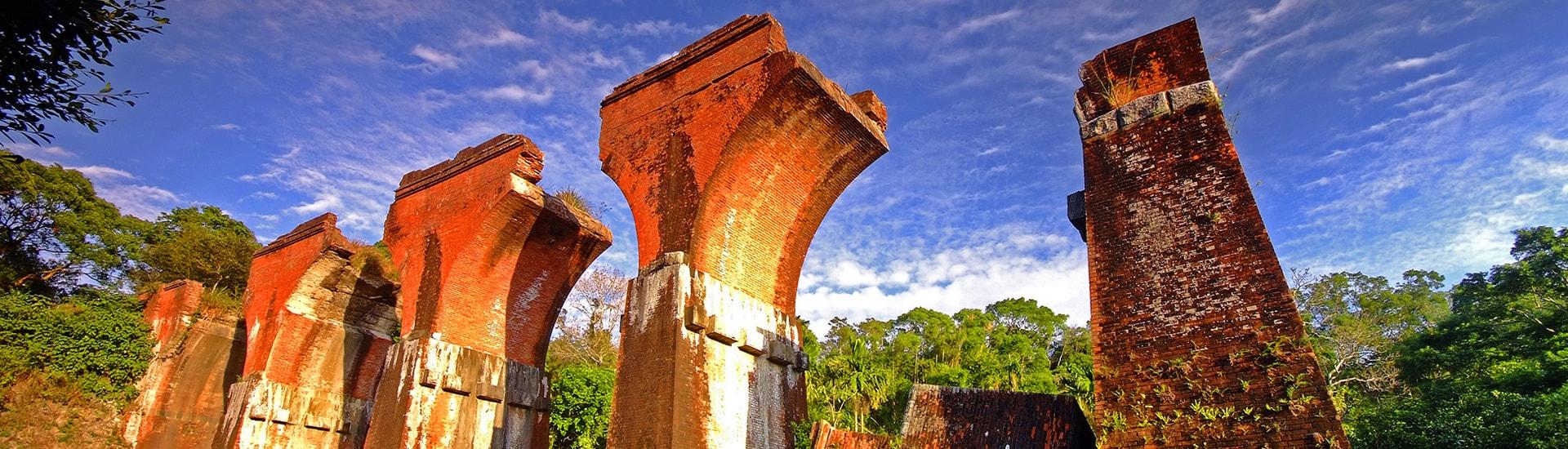 Remains of Longteng Bridge