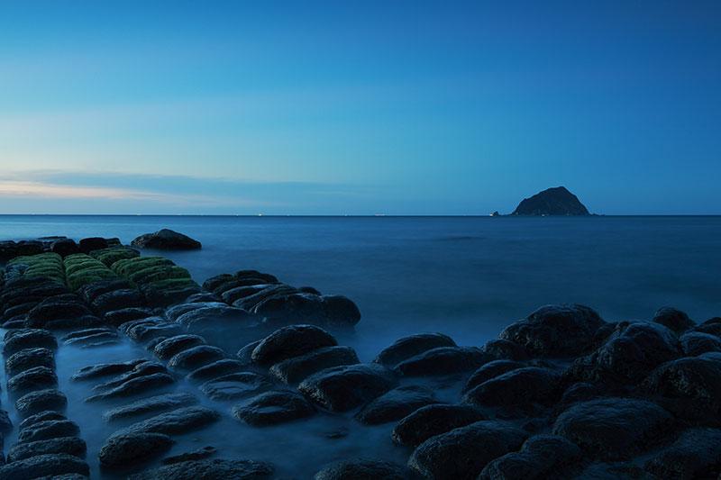 藍色和平島