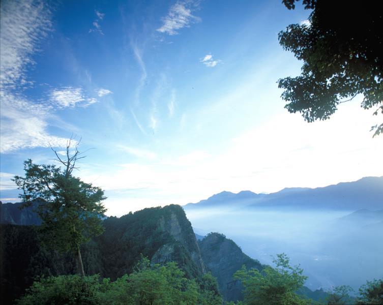 阿里山祝山觀景