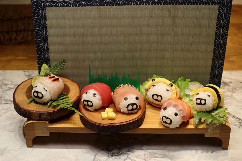 「諸事圓滿」小豬家握壽司套餐