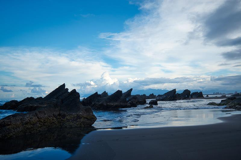 宜蘭外澳海蝕地形