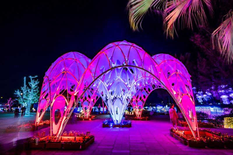 2019台灣燈會海底世界燈區「珊瑚之心」
