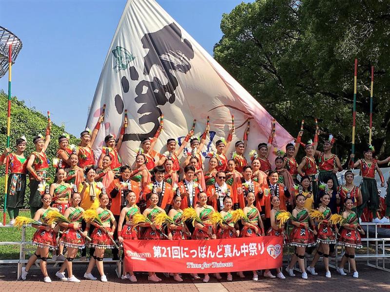交通部觀光局國際組組長黃勢芳率領台灣代表隊參與「第21屆名古屋真中祭」