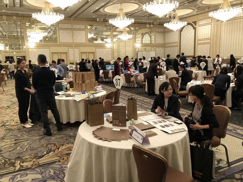 名古屋商談會-台方業者卯足全力介紹台灣!