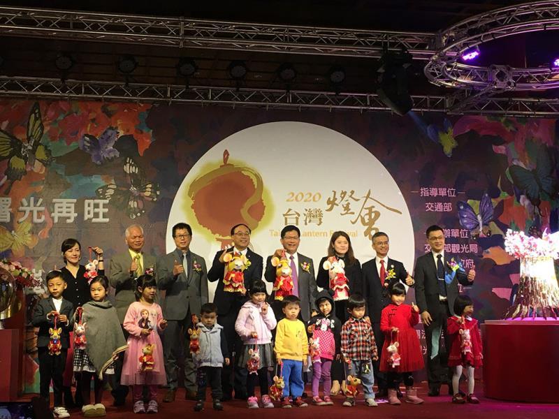 「2020台灣燈會」主燈暨小提燈造型發表記者會貴賓合影