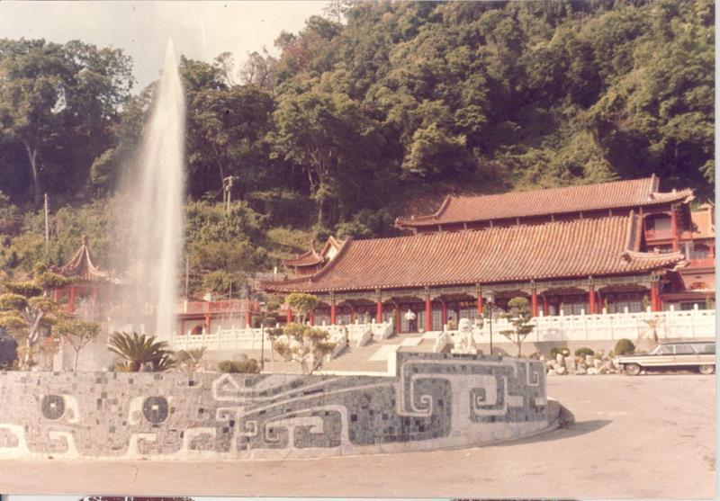 梨賓前庭噴水池的設計工程