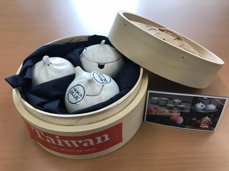 在日台灣美食展第二彈獎品 小籠包造型調味料罐組