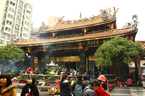 艋舺寺廟古蹟一日遊