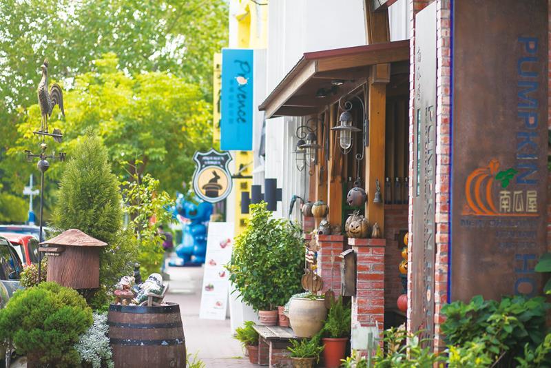 東海藝術街商圈