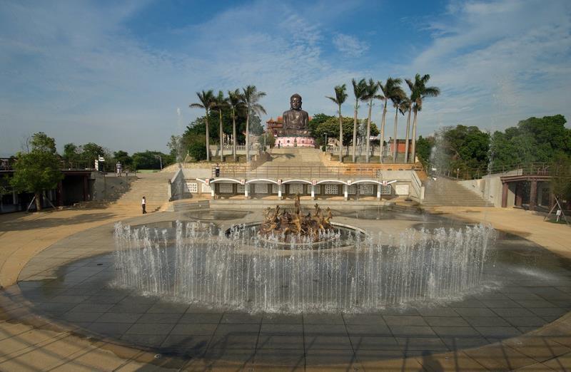 Estatua de Buda de la Montaña Bagua