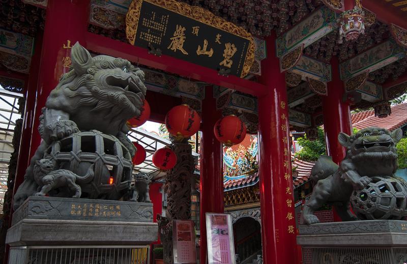 碧山巖開漳聖王廟