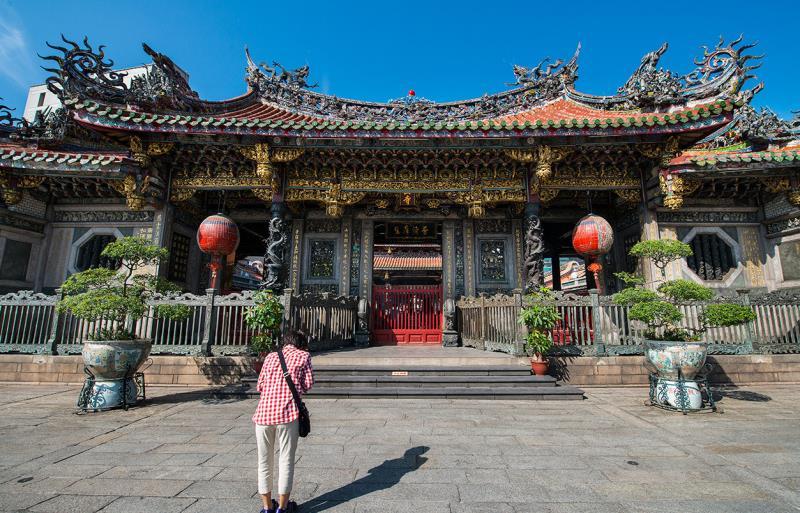 Templo Lungshan en Taipei