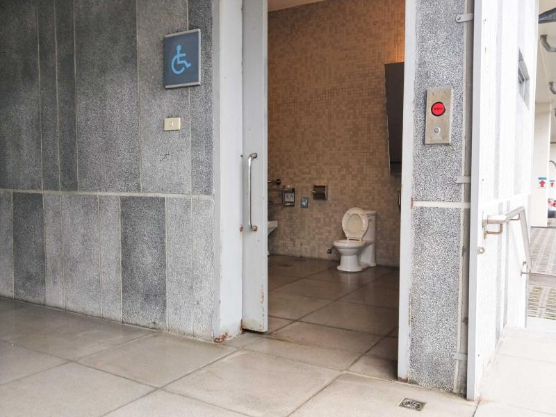 無障礙廁所外觀