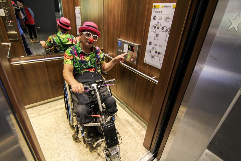 無障礙電梯設施空間