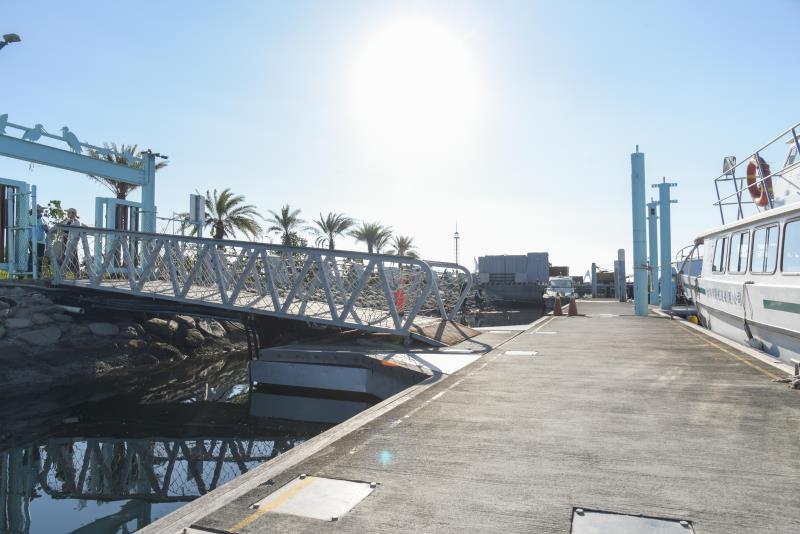 碼頭無障礙通道