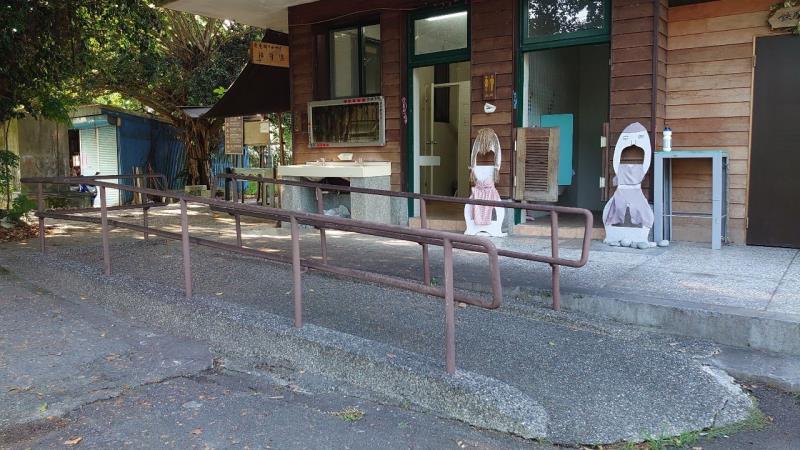 東里鐵馬驛站輪椅通道