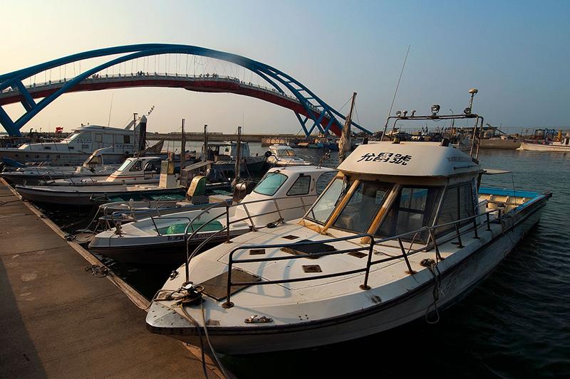 Puerto pesquero de Yong An