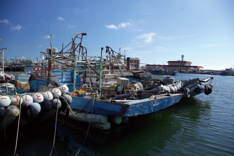 Puerto pesquero de Taixi