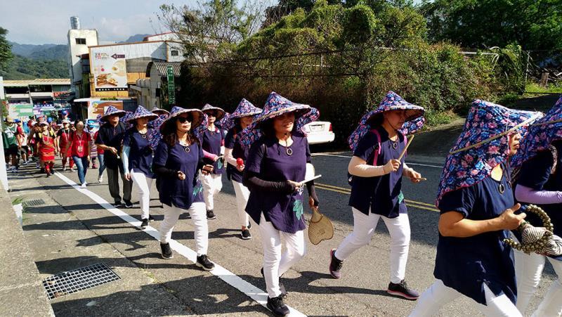 熱鬧踩街遊行  年度:2019  來源:苗栗縣政府文化觀光局