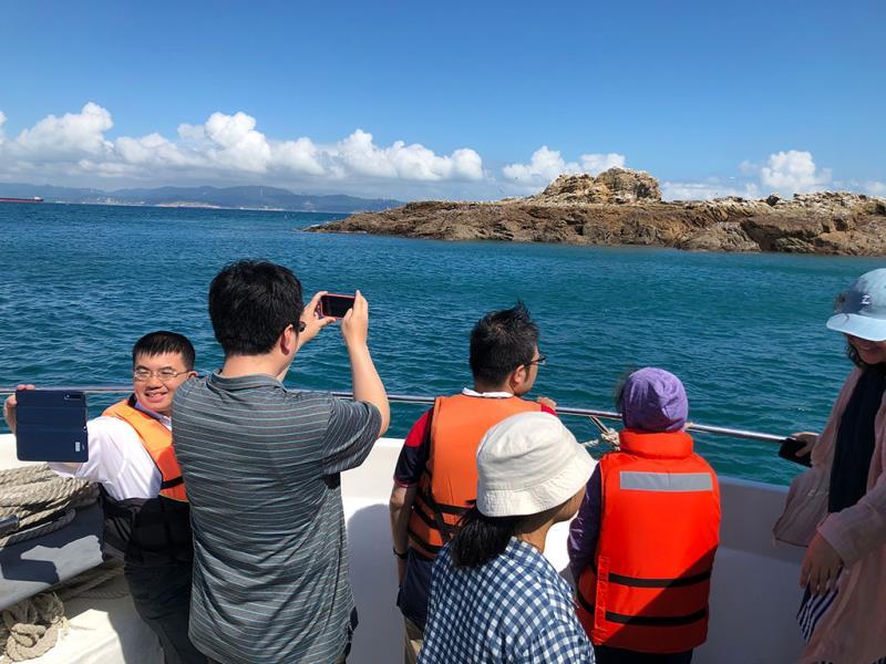 海上看馬祖,欣賞馬祖地質公園之美  年度:2019  來源:連江縣交通旅遊局