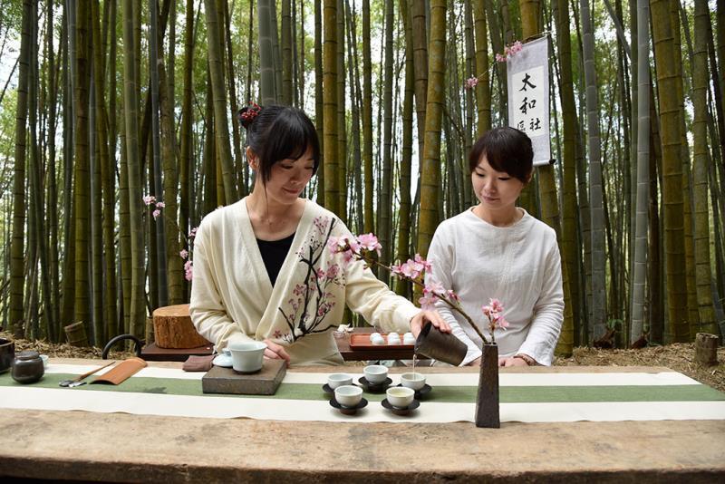 竹林茶席  年度:2019  來源:阿里山國家風景區管理處