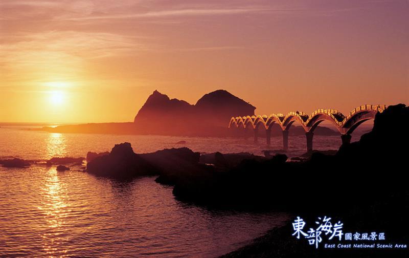 三仙台日出  來源:東部海岸國家風景區