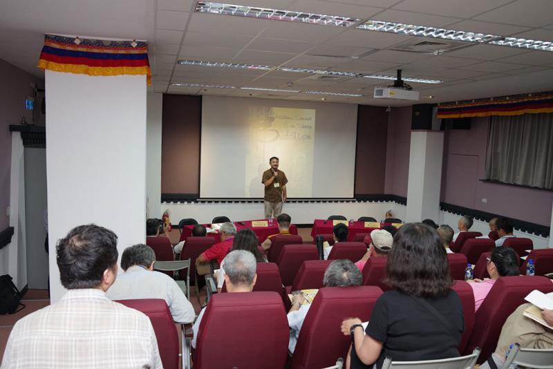 藏傳佛教學術研討會開幕式  年度:2018  來源:文化部