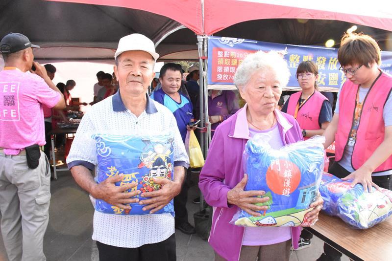 禮遇樂齡族,送平安抱枕  年度:2019  來源:雲嘉南濱海國家風景區管理處