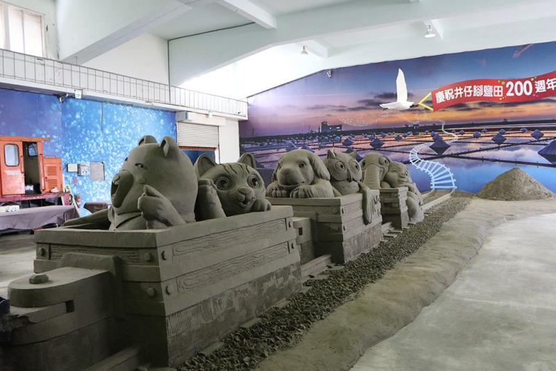 喔熊列車  年度:2018  來源:雲嘉南濱海國家風景區管理處