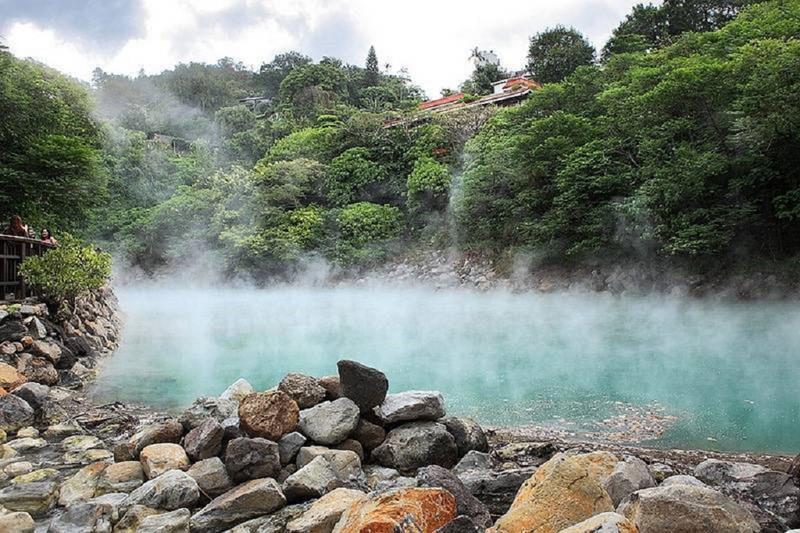 溫泉區的地熱谷展現大自然巧奪天工的美景  來源:臺北市政府觀光傳播局