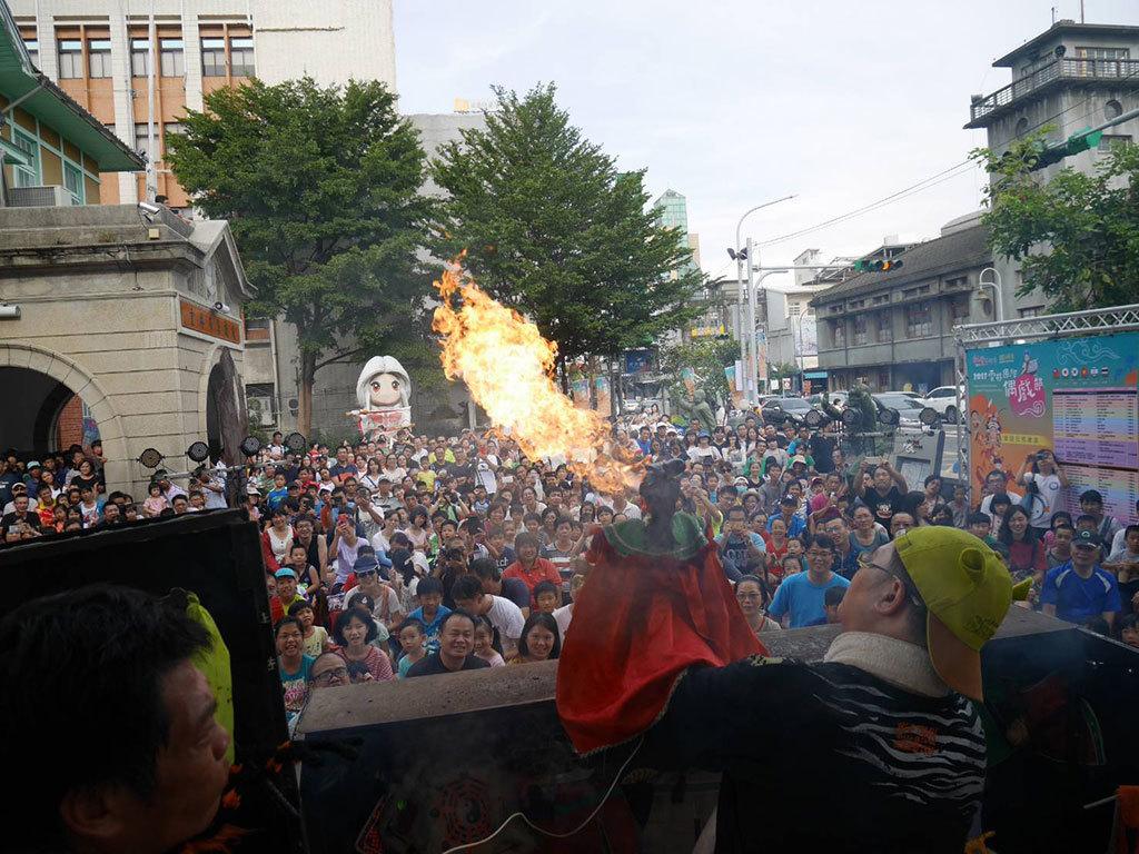 阿忠布袋戲演出  年度:2017  來源:雲林縣政府文化處