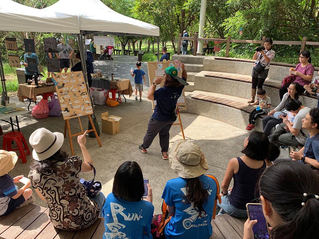 琵嘴鴨互動遊戲瞭解各種鳥嘴形態及鳥類習性  年度:2019  來源:台北市動物保護處