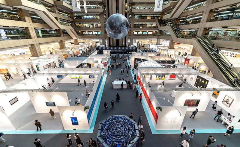 2018 Art Taipei展會大器象(文化部提供)