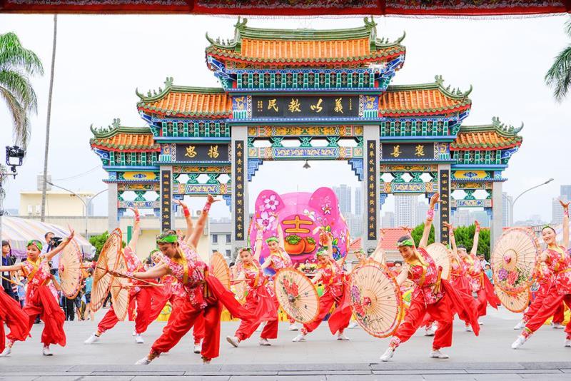 福爾摩沙舞劇團-萬眾祈福  年度:2018  來源:新竹縣政府文化局