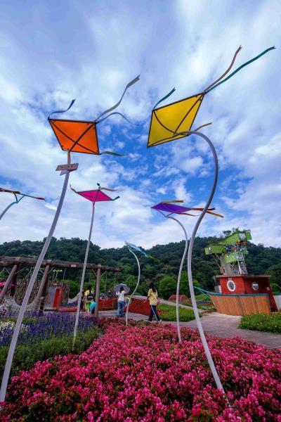 2013宜蘭綠色博覽會-蘭陽仙蹤-風箏