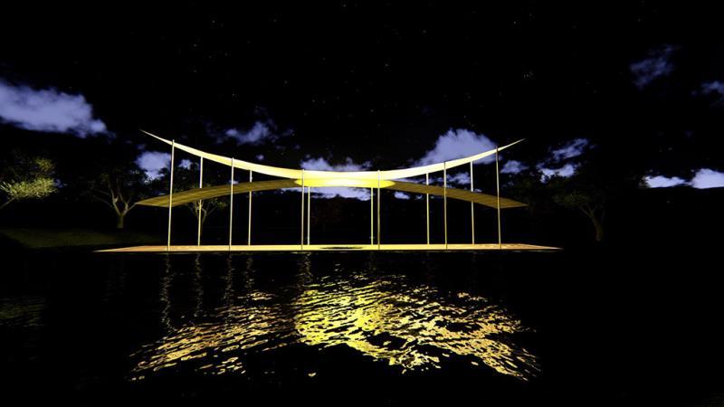 水域燈區-光際,之間  年度:2019  來源:臺南市政府