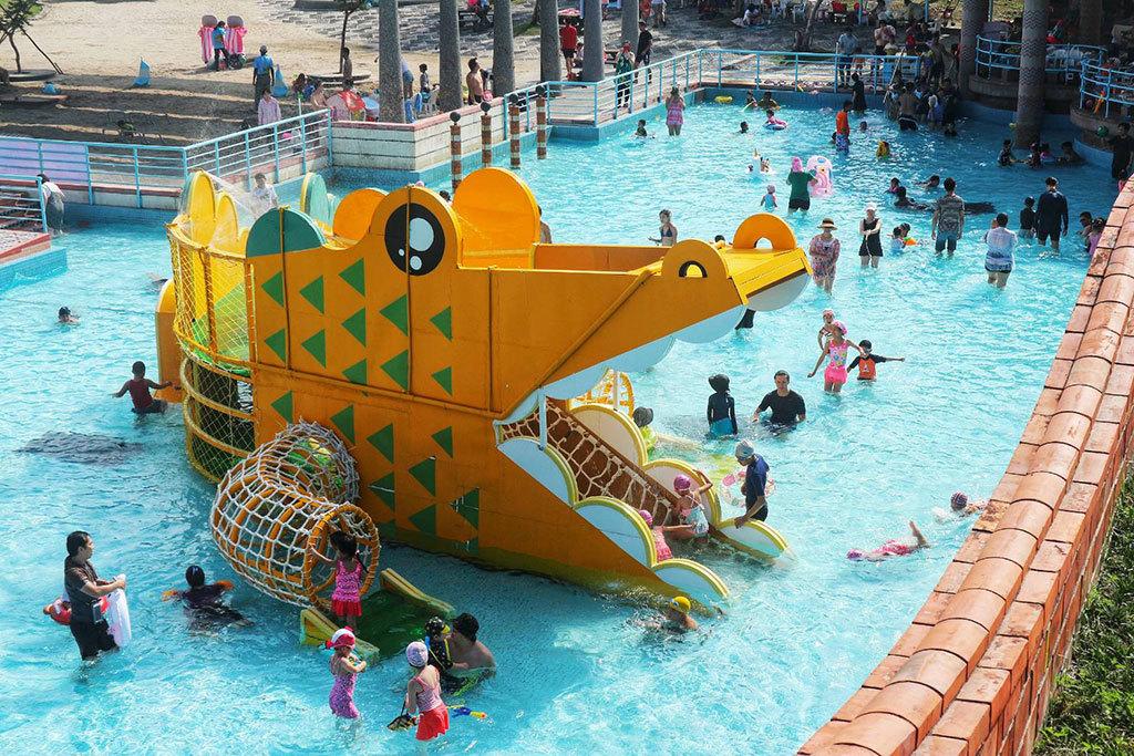 水域-鱷魚滑梯  年度:2018  來源:宜蘭縣政府文化局