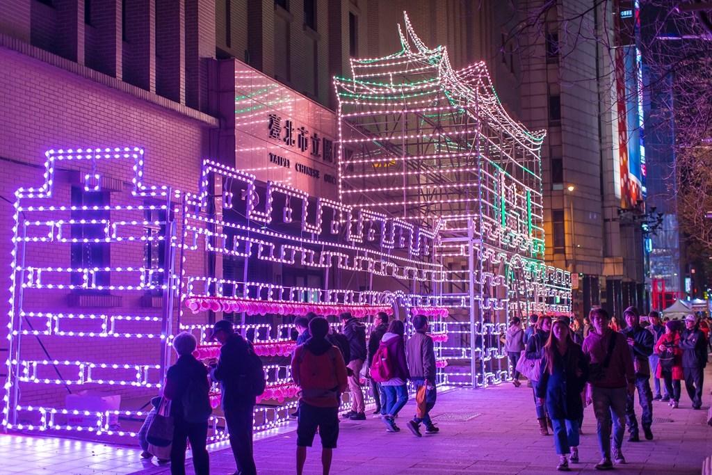 「西門城垛」祈福燈區  年度:2018