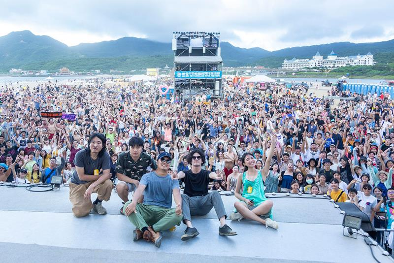冒險台邀請國內外知名樂團帶來精采演出  年度:2019  來源:新北市政府觀光旅遊局
